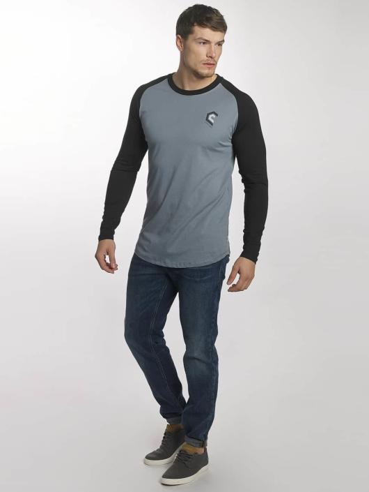 Jack & Jones T-Shirt manches longues jcoBuddy bleu