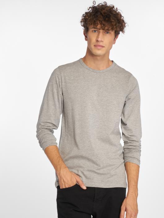 Jack   Jones   Basic gris Homme T-Shirt manches longues 86611 67c65665806d