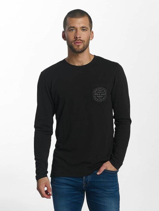 Jack   Jones   jorTap noir Homme T-Shirt manches longues 377813 8b927223155a