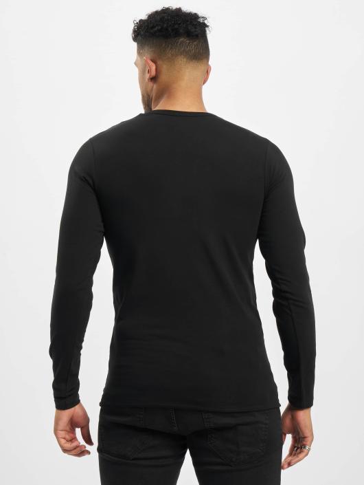 Jack   Jones   Core Basic noir Homme T-Shirt manches longues 86610 1798f9d8b895