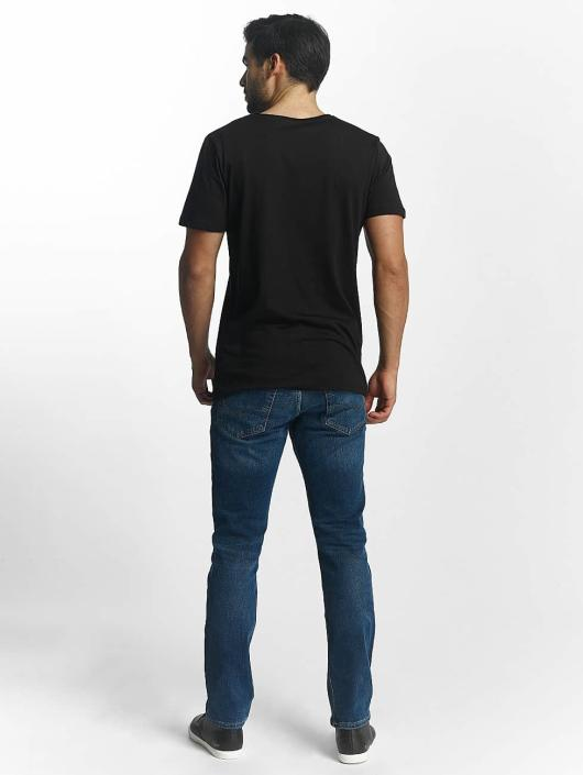 Jack & Jones T-Shirt Split noir