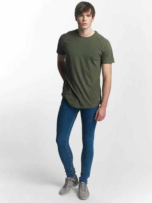 Jack & Jones t-shirt jcoRafe olijfgroen