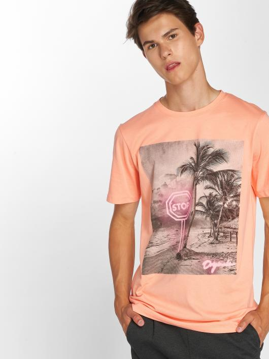 Jack & Jones T-Shirt jorPen Crew Neck orange