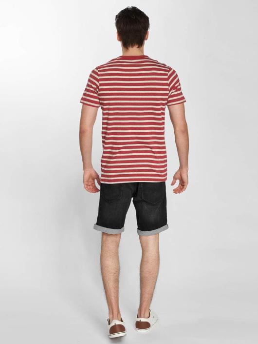 Jack & Jones T-Shirt jjeStripe red