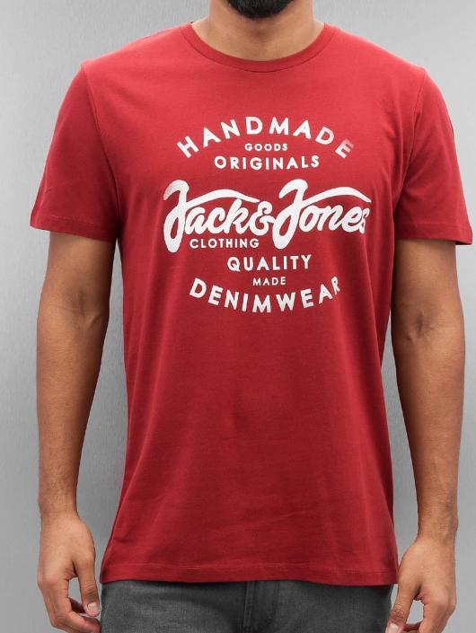 Jack & Jones T-shirt jorNew Raffa röd