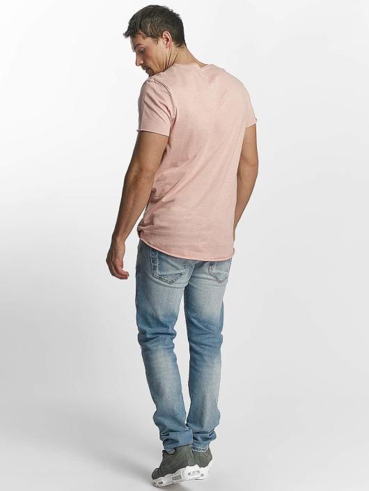 Jack & Jones T-Shirt jorBas rosa
