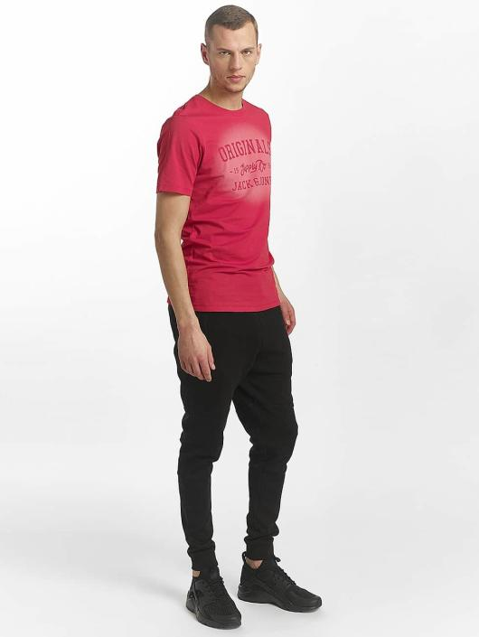 Jack & Jones T-Shirt jorStencild rot