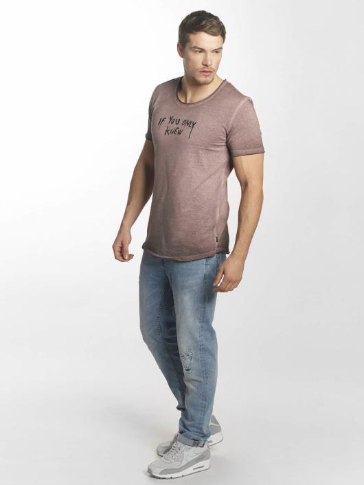 Jack & Jones T-Shirt jorDrapper rouge