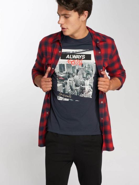 Jack & Jones T-Shirt jorSup Crew Neck schwarz
