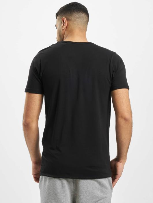 Jack & Jones T-Shirt Core Basic V-Neck schwarz