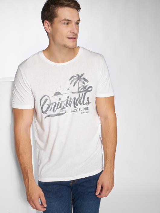 Jack & Jones T-Shirt jorHero weiß