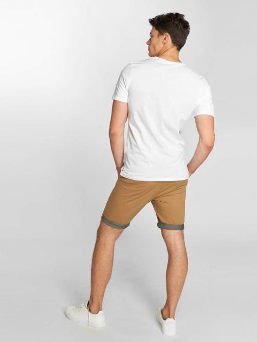 Jack & Jones T-Shirt jjePlain weiß
