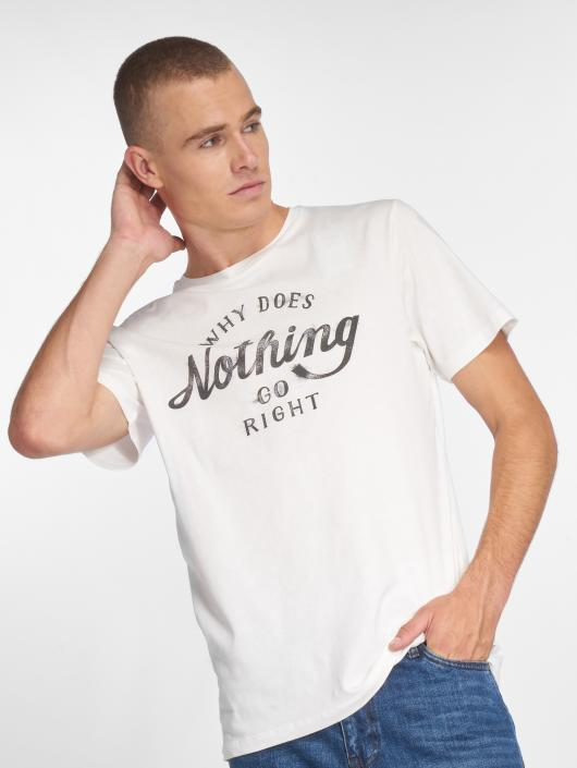 Jack & Jones T-Shirt jorSmoky white