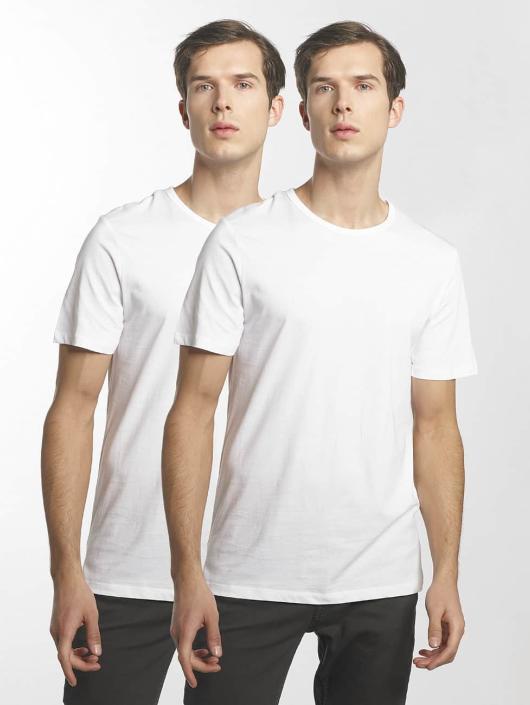 Jack & Jones T-Shirty jacBasic bialy