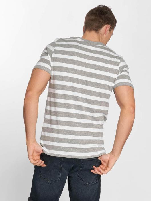 Jack & Jones T-Shirty jjeStripe bialy