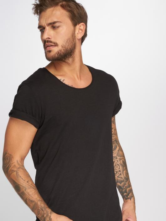 Jack & Jones T-Shirty jjeBas czarny