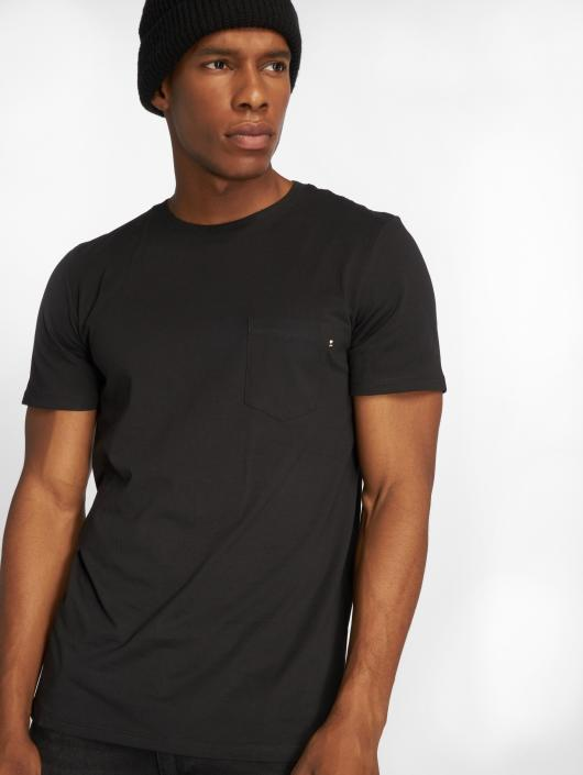 Jack & Jones T-Shirty jjePocket czarny