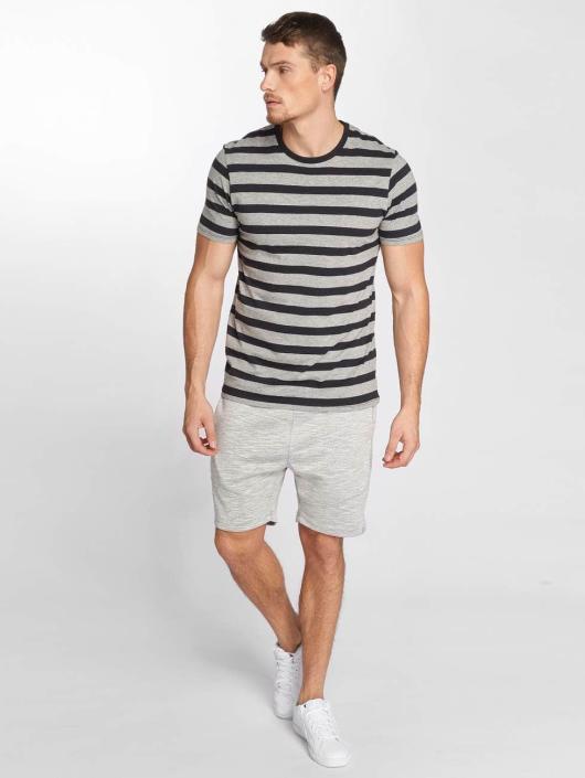 Jack & Jones T-Shirty jjeStripe czarny