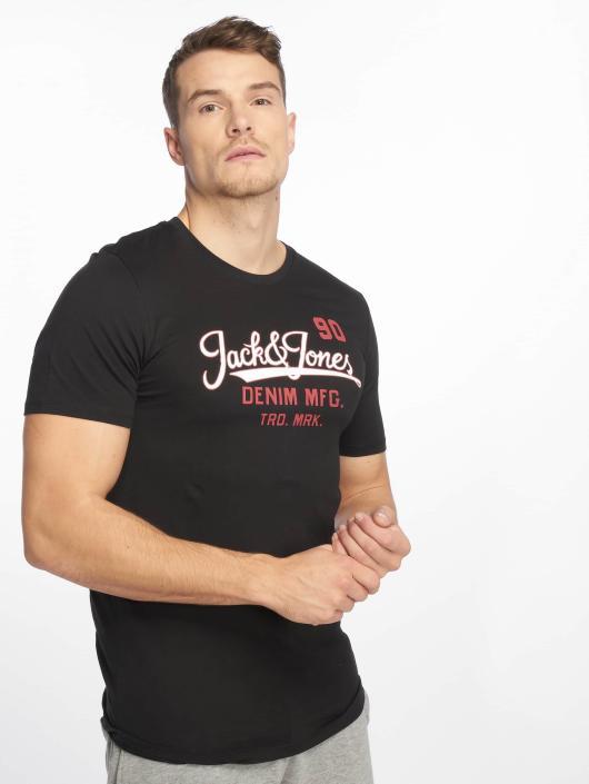 Jack & Jones T-Shirty jjeLogo czarny
