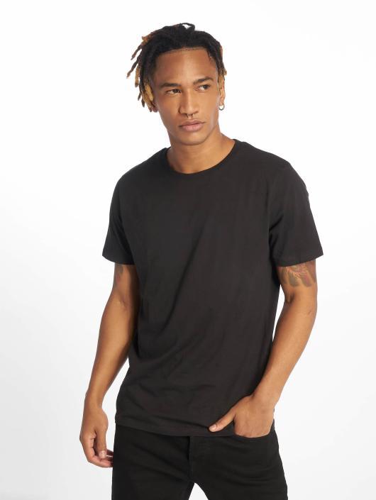 Jack & Jones T-Shirty jjePlain 2-Pack czarny