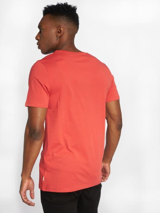 Jack & Jones T-Shirty jjePocket czerwony