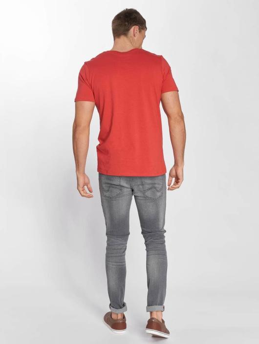 Jack & Jones T-Shirty jjeCorp Logo czerwony