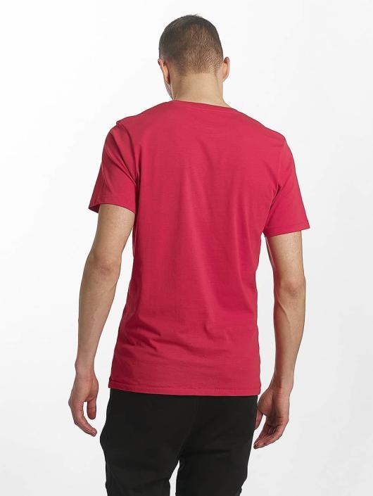 Jack & Jones T-Shirty jorStencild czerwony