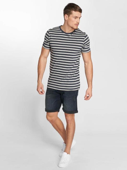Jack & Jones T-Shirty jjeStripe niebieski