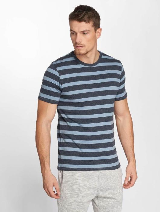 Jack & Jones T-Shirty jjeStripe niebieski