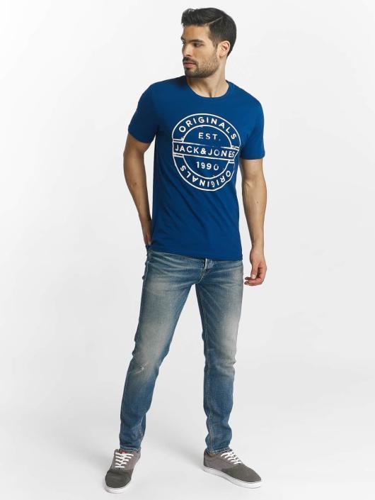 Jack & Jones T-Shirty jorSlack niebieski
