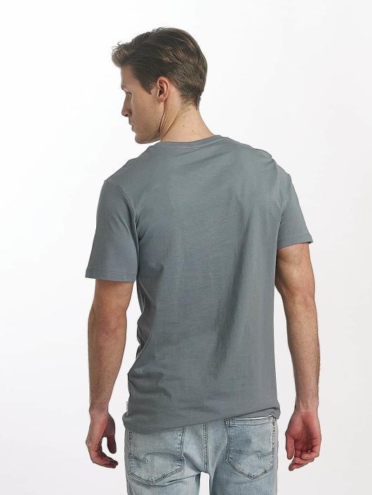 Jack & Jones T-Shirty jcoLine niebieski