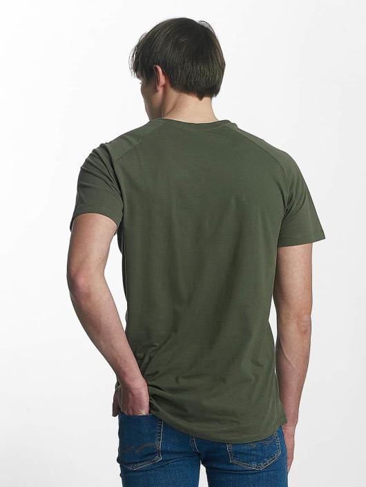 Jack & Jones T-Shirty jcoRafe oliwkowy