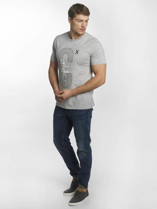 Jack & Jones T-Shirty jcoLucas szary