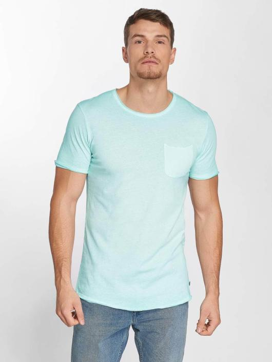 Jack & Jones T-Shirty jorJack Crew Neck turkusowy