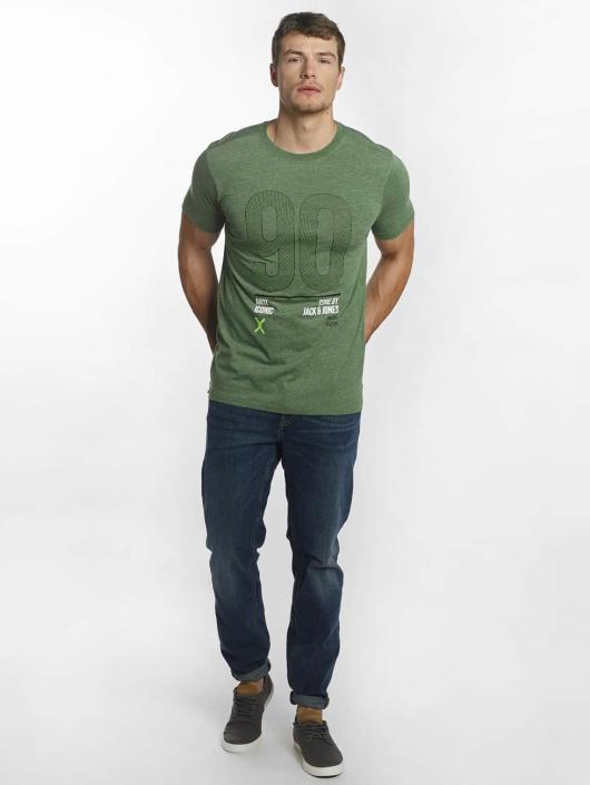 Jack & Jones T-Shirty jcoLucas zielony