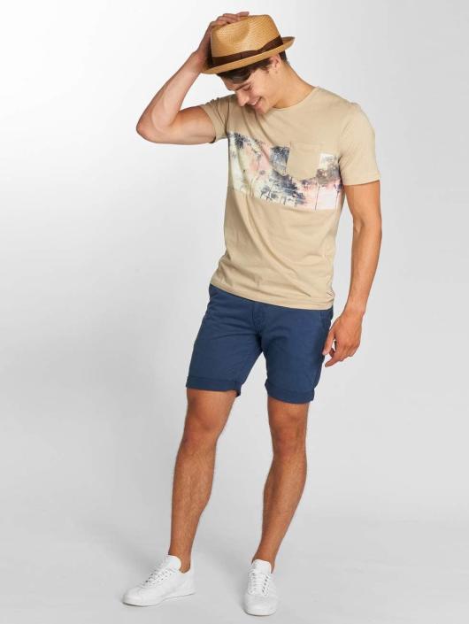 Jack & Jones T-skjorter jorFilter beige