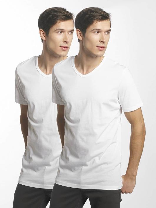 Jack & Jones T-skjorter jacBasic hvit