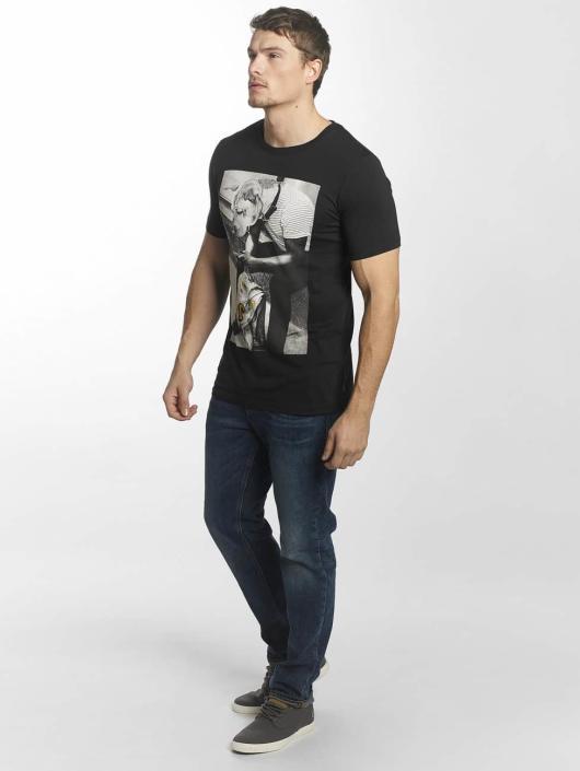 Jack & Jones T-skjorter jorHearty svart