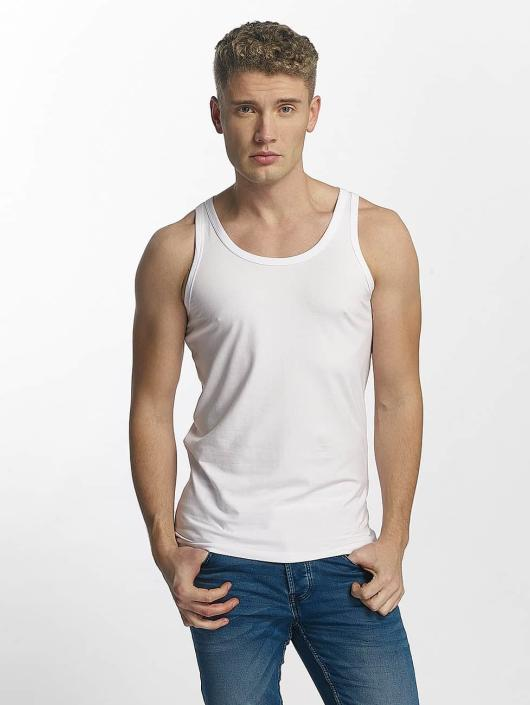 Jack & Jones Tank Tops Basic hvit