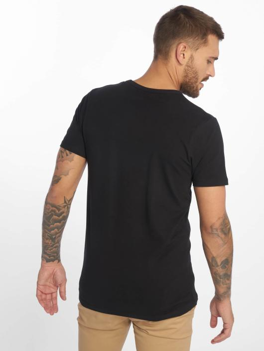 Jack & Jones Tričká Basic O-Neck èierna