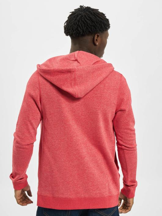 Jack & Jones Zip Hoodie jjvRecycle èervená
