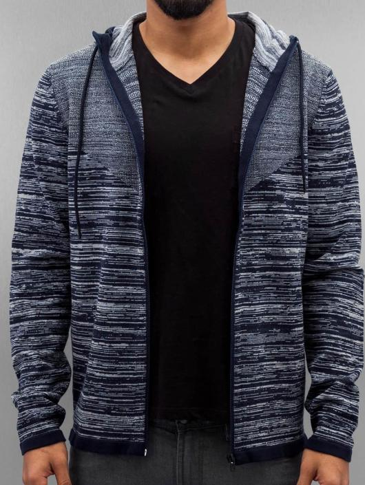 Jack & Jones Zip Hoodie jcoForrest blue