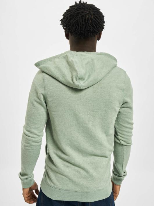 Jack & Jones Zip Hoodie jjvRecycle grün