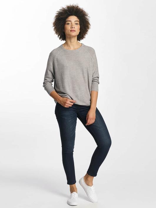 JACQUELINE de YONG Пуловер jdyMati Knit серый