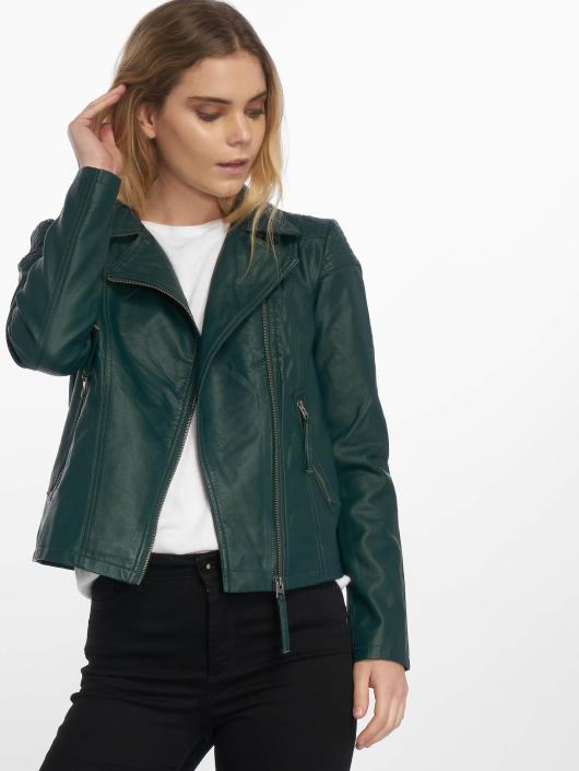 JACQUELINE de YONG Lærjakke jdyDana Faux Leather grøn