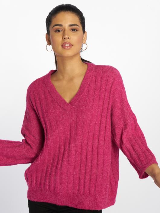 JACQUELINE de YONG Longsleeve jdySeven Knit pink