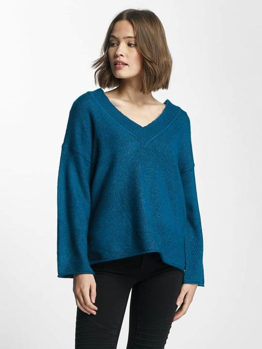 JACQUELINE de YONG Pullover jdyDuo blau