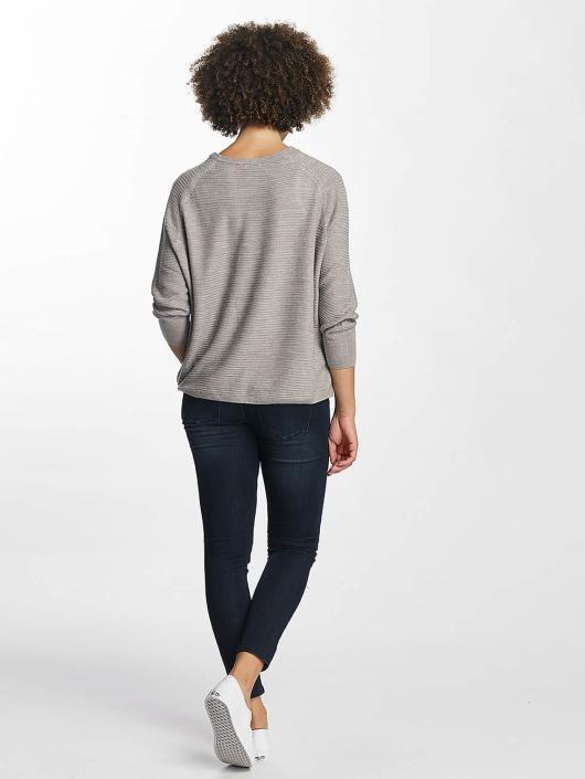 JACQUELINE de YONG Pullover jdyMati Knit grau