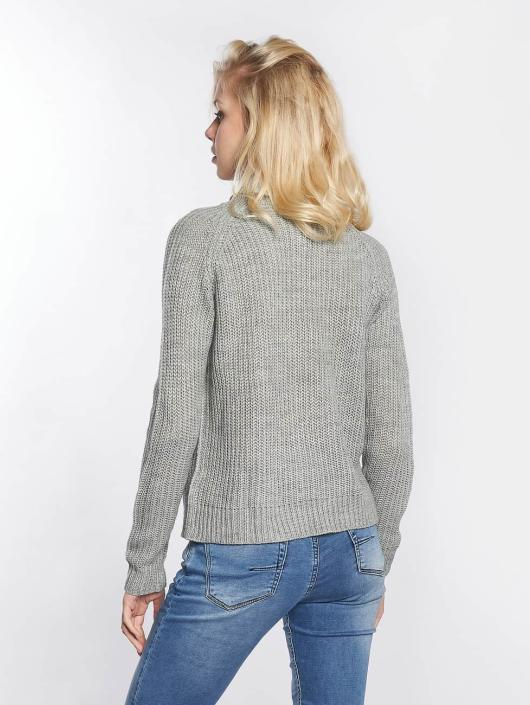 JACQUELINE de YONG Pullover jdyJusty gray