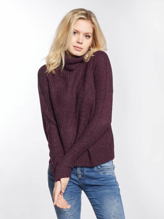 JACQUELINE de YONG Pullover jdyJusty purple